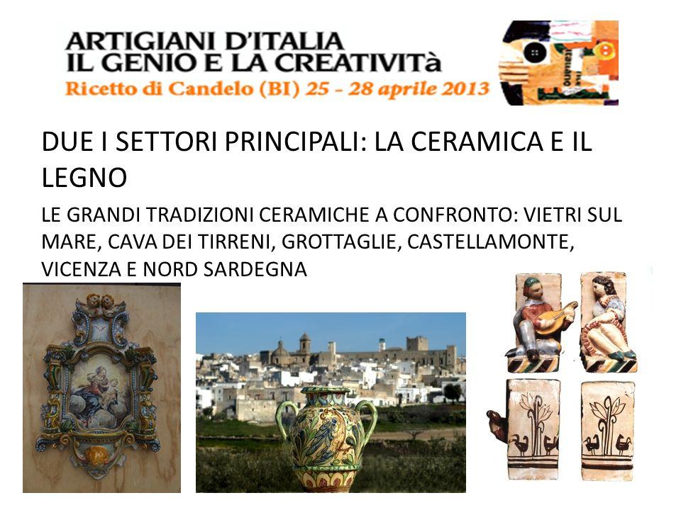 I tavoli di lavoro Intesi come momenti di scambio e confronto tra i vari maestri artigiani provenienti dai diversi territori italiani.
