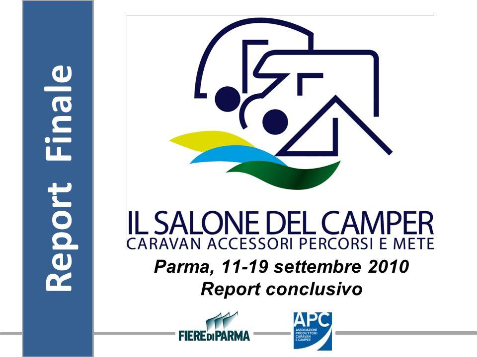 Parma, 11-19 settembre 2010 Report conclusivo Report Finale