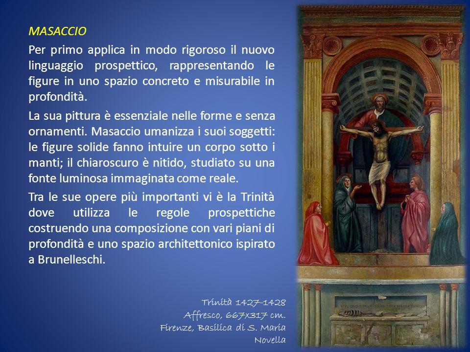 RAFFAELLO SANZIO (1483-1520) Più giovane di Leonardo e Michelangelo, ammira e studia le loro opere,elaborando uno stile personale: la sua pittura è ricerca di perfezione e armonia, nessun elemento dellimmagine prevale sullaltro,ricreando quasi una realtà ideale.