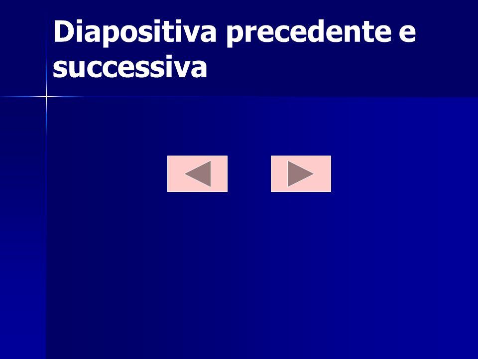 Diapositiva precedente e successiva