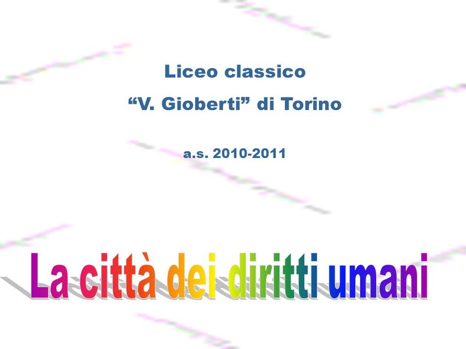 Liceo classico V. Gioberti di Torino a.s. 2010-2011