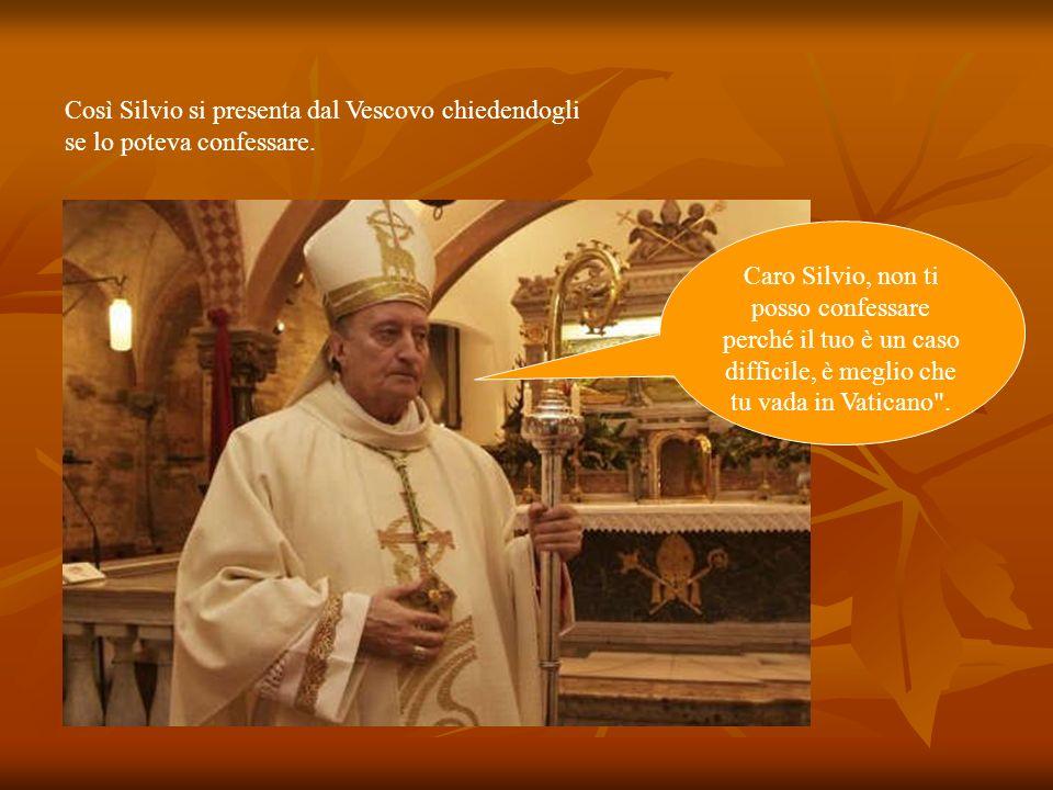 Prima delle elezioni Berlusconi Silvio sente la necessità di rinsaldare le sue radici cattoliche Berlusconi Silvio, padre Ahi.