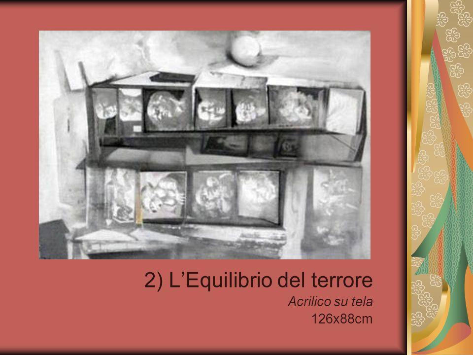 2) LEquilibrio del terrore Acrilico su tela 126x88cm