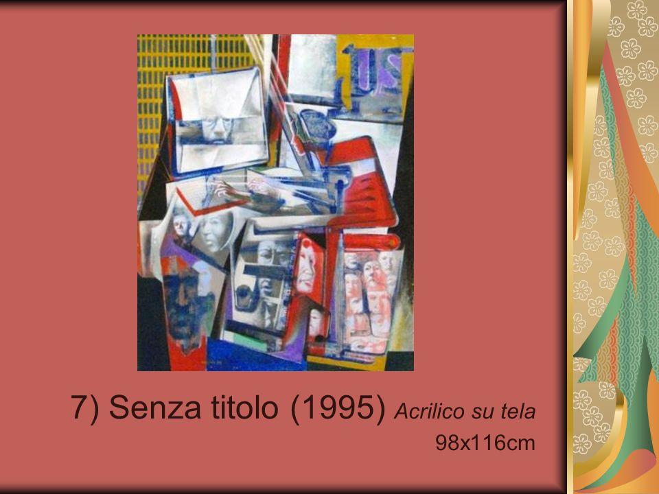 28) La signora Maria Lenti (1999) Acrilico su tela 35x50cm