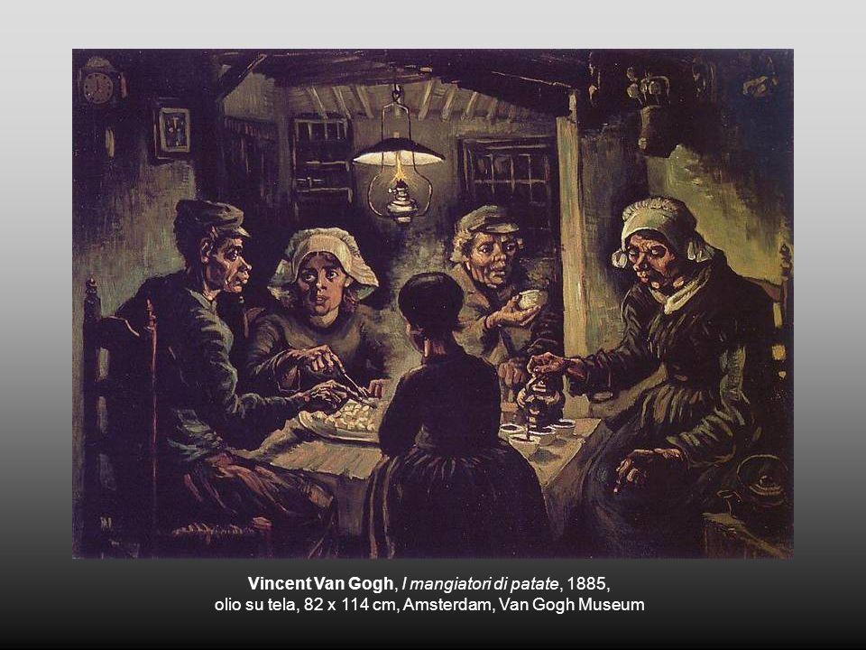 Vincent Van Gogh, I mangiatori di patate, 1885, olio su tela, 82 x 114 cm, Amsterdam, Van Gogh Museum