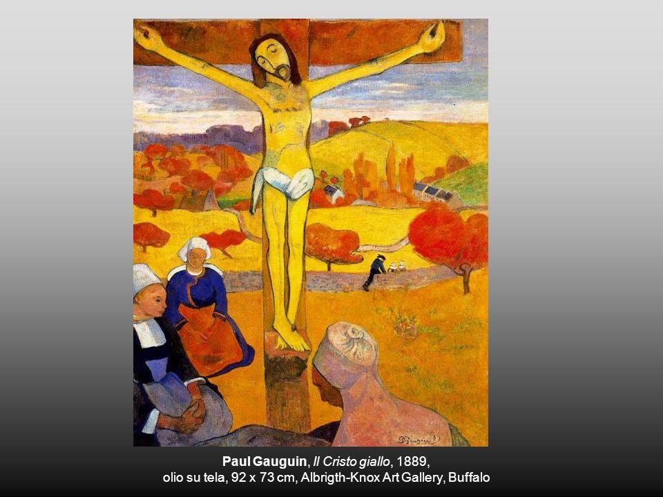 Paul Gauguin, Il Cristo giallo, 1889, olio su tela, 92 x 73 cm, Albrigth-Knox Art Gallery, Buffalo