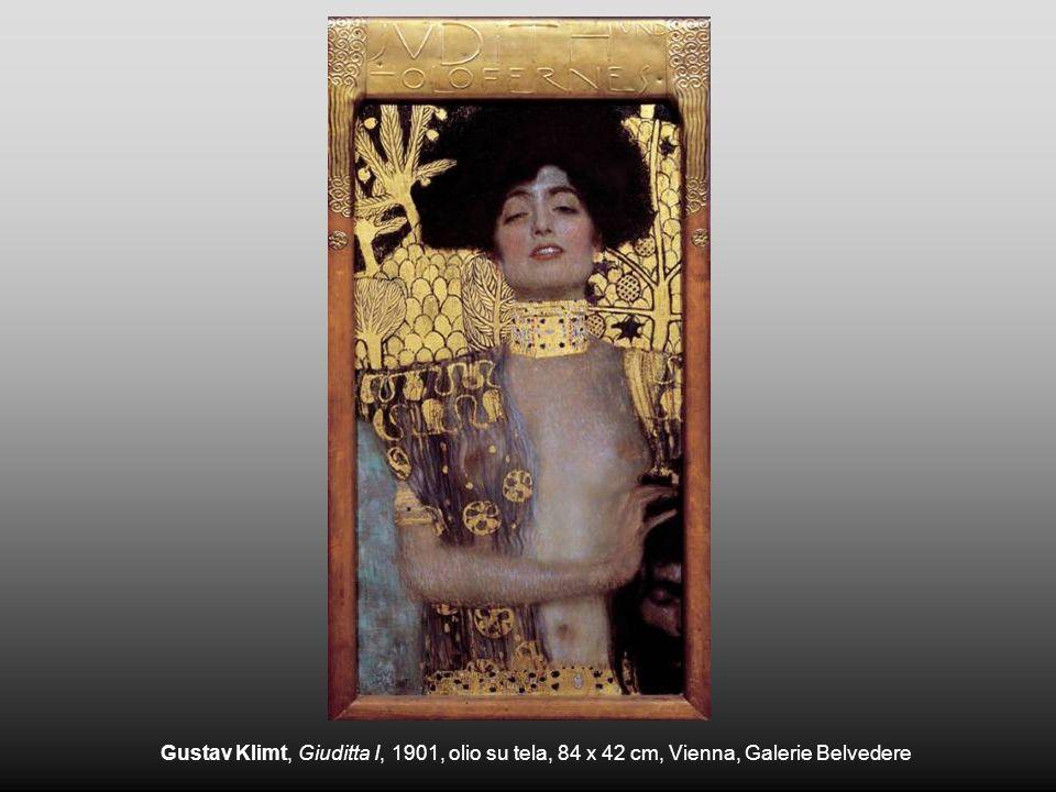 Gustav Klimt, Giuditta I, 1901, olio su tela, 84 x 42 cm, Vienna, Galerie Belvedere