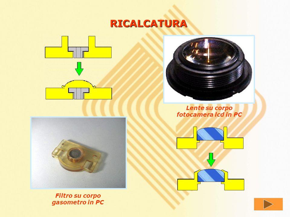 RIVETTATURA Lamina metallica su corpo in PC Ghiera metallica su corpo in PP Armatura metallica su carter hub net work in PC Molle blocca fermo in PP A