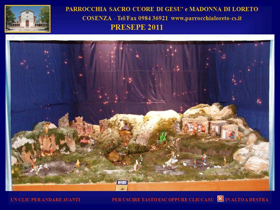 PARROCCHIA SACRO CUORE DI GESU e MADONNA DI LORETO COSENZA - Tel/Fax 0984 36921 www.parrocchialoreto-cs.it UN CLIC PER ANDARE AVANTI STATUA DELLA MADO