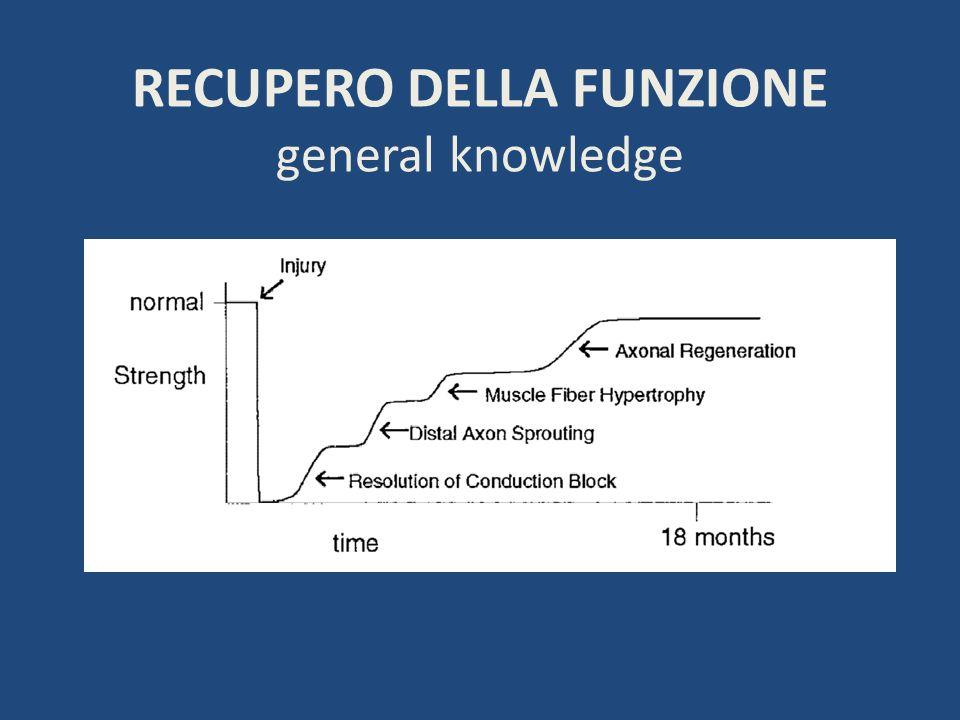 RECUPERO DELLA FUNZIONE general knowledge