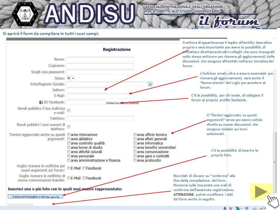 Cliccando su scrivi a si apre questa pagina che ci permette di contattare uno o più utenti del forum che posso trovare cliccando su A.