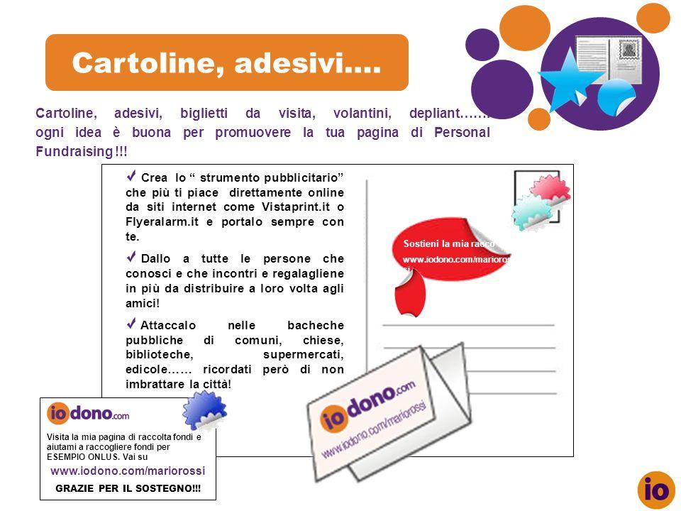 Cartoline, adesivi….