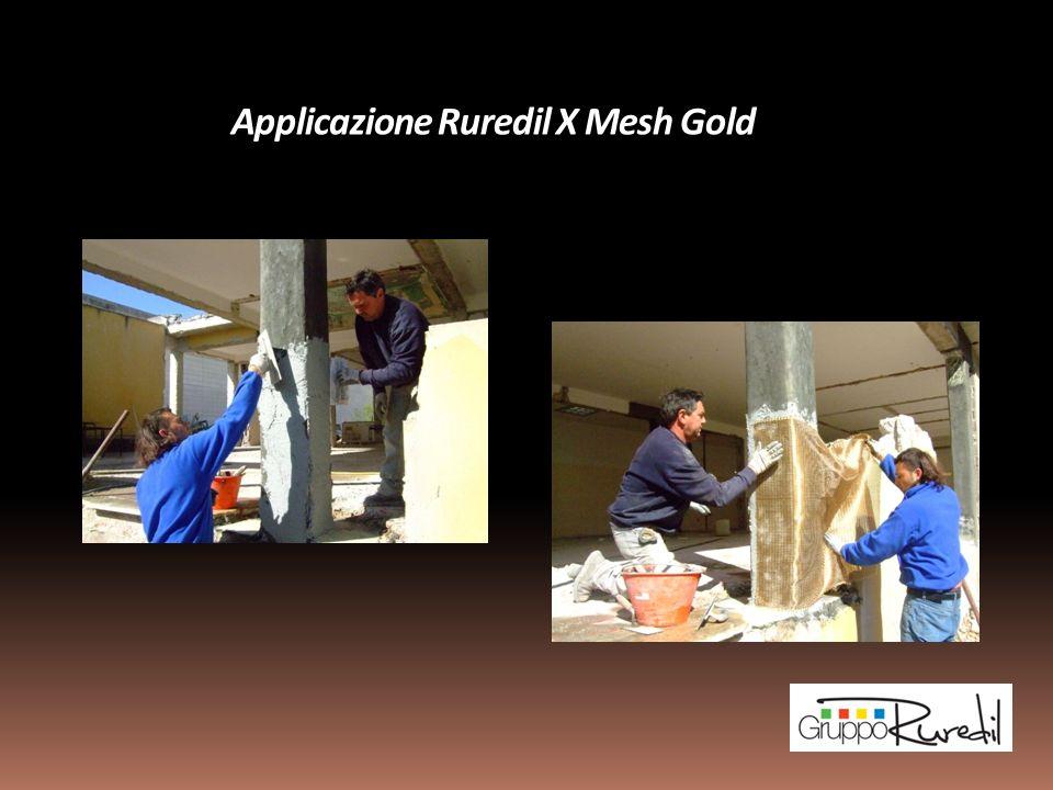 Applicazione Ruredil X Mesh Gold