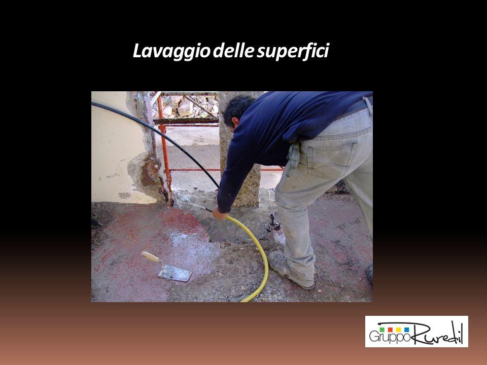 Lavaggio delle superfici