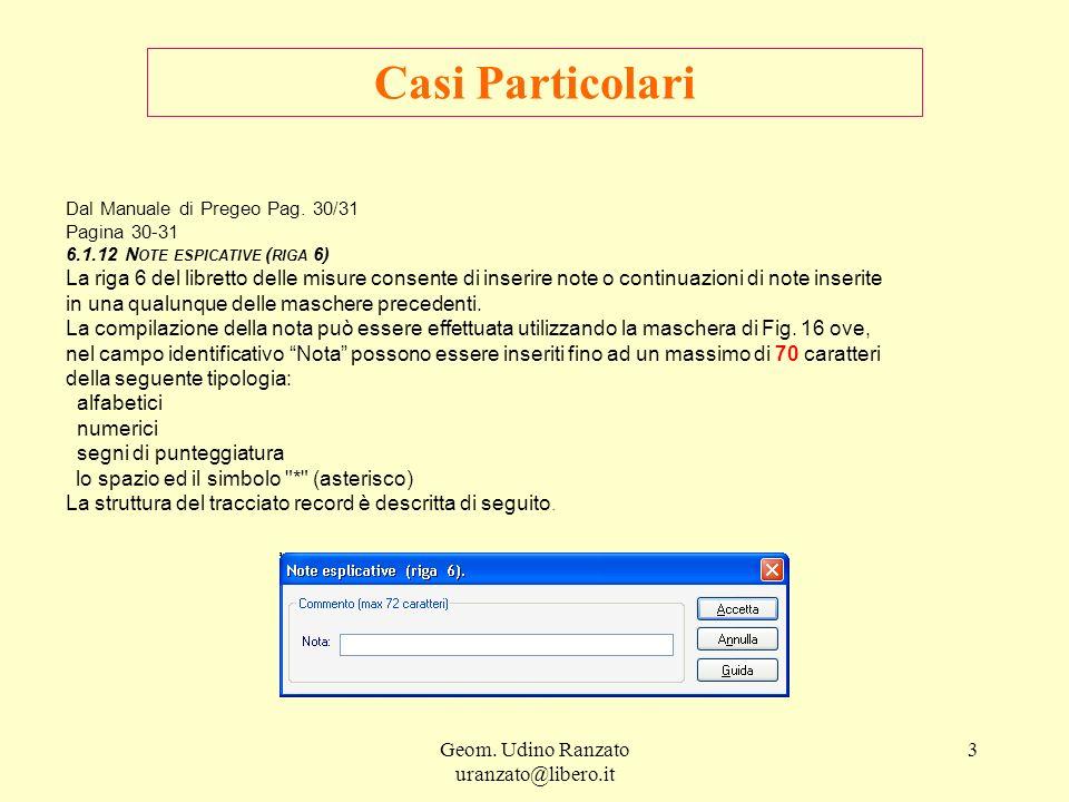 Geom.Udino Ranzato uranzato@libero.it 4 Casi Particolari Fig.
