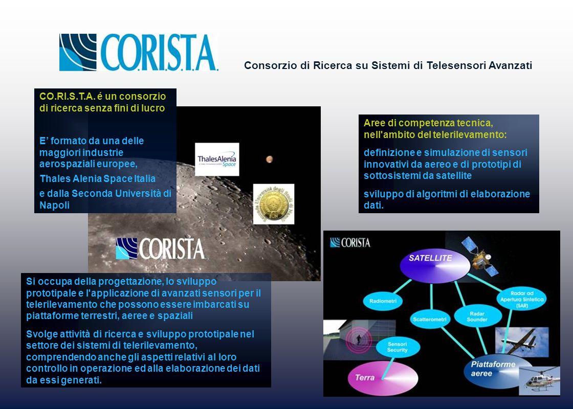 Consorzio di Ricerca su Sistemi di Telesensori Avanzati CO.RI.S.T.A. é un consorzio di ricerca senza fini di lucro E formato da una delle maggiori ind