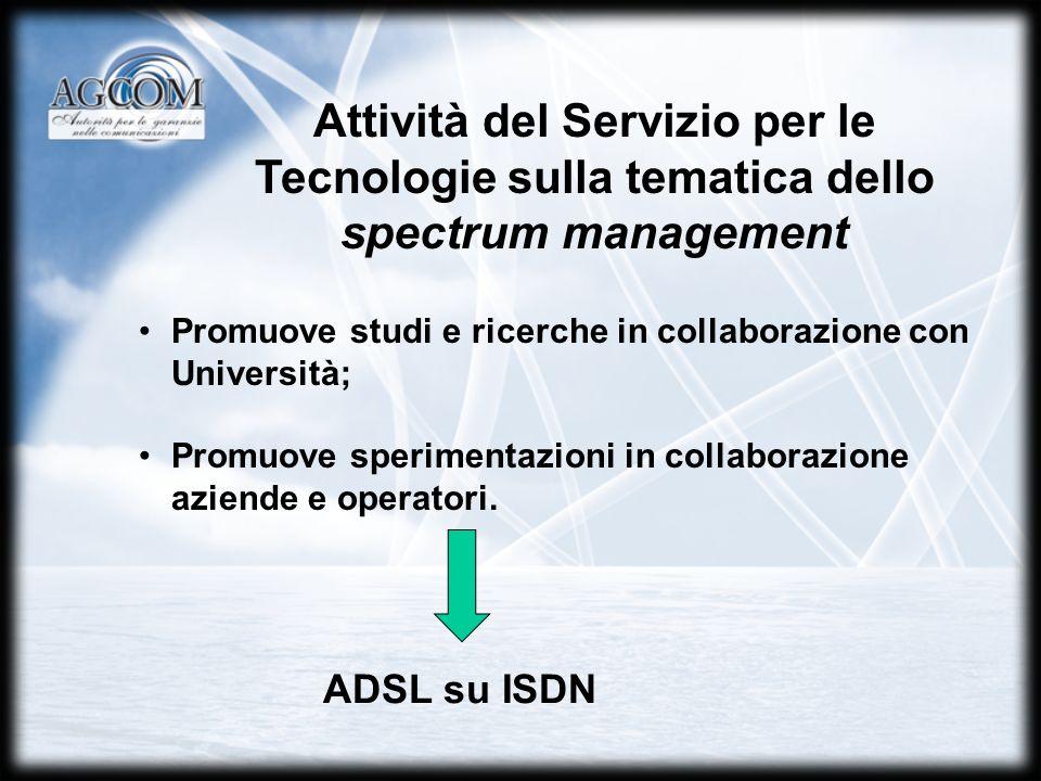 Promuove studi e ricerche in collaborazione con Università; Promuove sperimentazioni in collaborazione aziende e operatori.