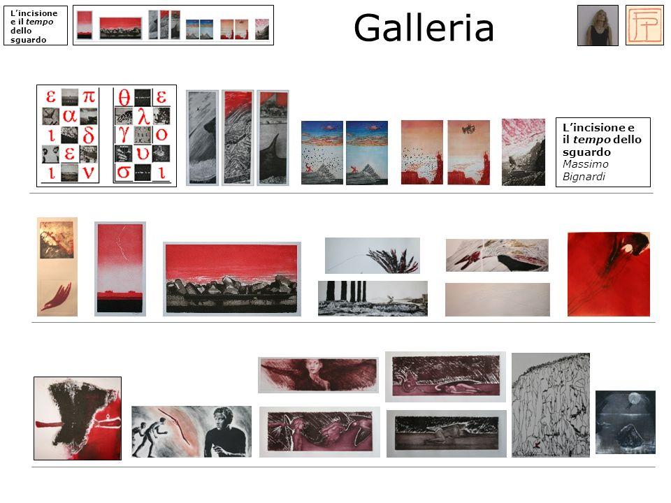 Lincisione e il tempo dello sguardo Galleria Lincisione e il tempo dello sguardo Massimo Bignardi