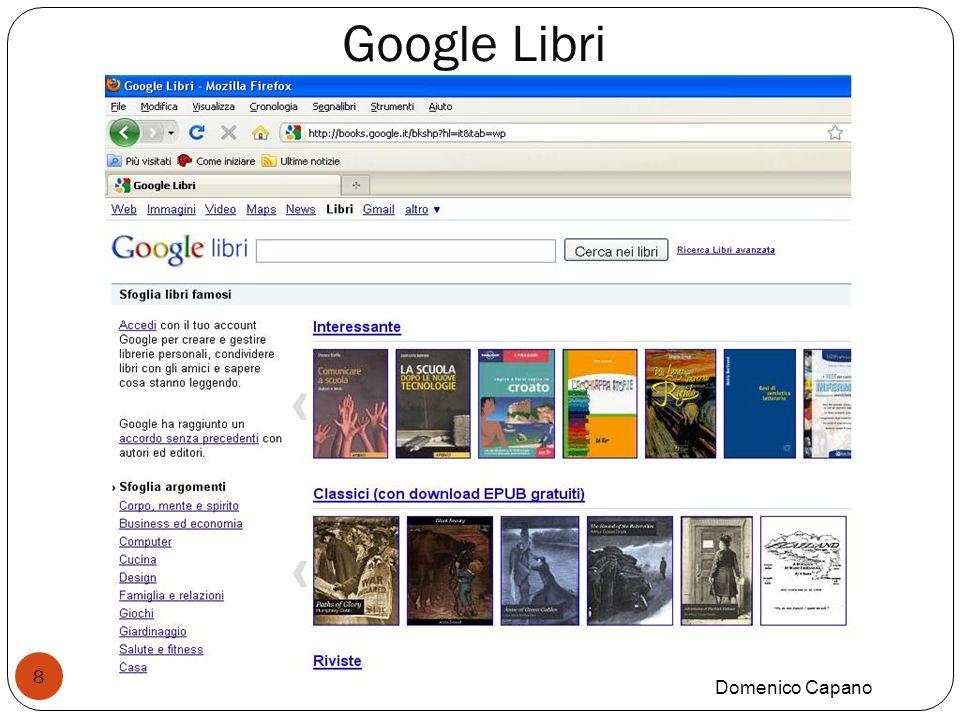Google Libri Domenico Capano 8