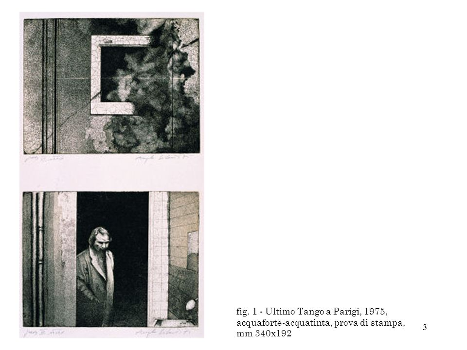 44 Fig 44 - Raffaello-Wenders, 1992, colori acrilici, collage, pastelli e matite colorate su tela, cm 150x120