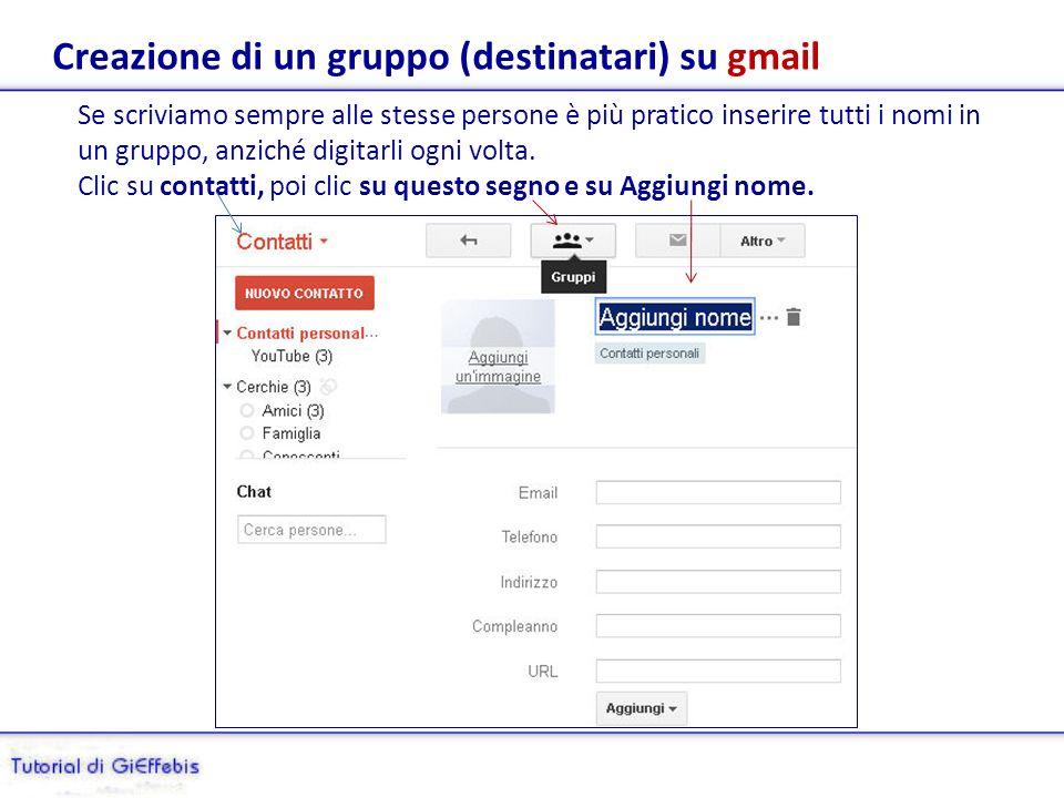 Segnaliamo gli spam a gmail Ogni server di posta elettronica permette la segnalazione di un messaggio di spam, basta indicarlo e le mail di quel mittente, in futuro, andranno di- rettamente nella cartella spam; vediamo come fare: Clic su posta in arrivo/apriamo la mail, poi clic su questa casella e clic su spam.
