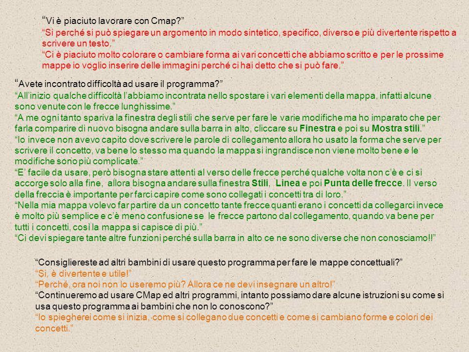 Vi è piaciuto lavorare con Cmap? Si perché si può spiegare un argomento in modo sintetico, specifico, diverso e più divertente rispetto a scrivere un