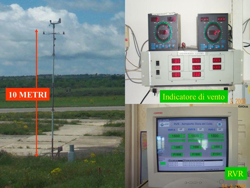 Indicatore di vento RVR 10 METRI