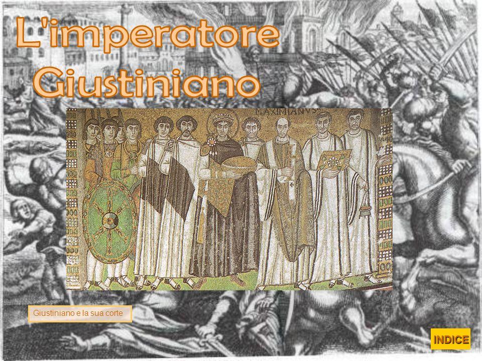 Giustiniano e la sua corte INDICE