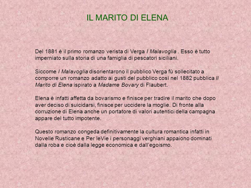 LA VITA NEI CAMPIE ROSSO MALPELO La prima opera verista di Verga è la raccolta di otto novelle con il titolo di Vita nei Campi uscita nel 1880.Protagonisti di questa raccolta sono contadini, pastori, minatori di delle campagne siciliane.