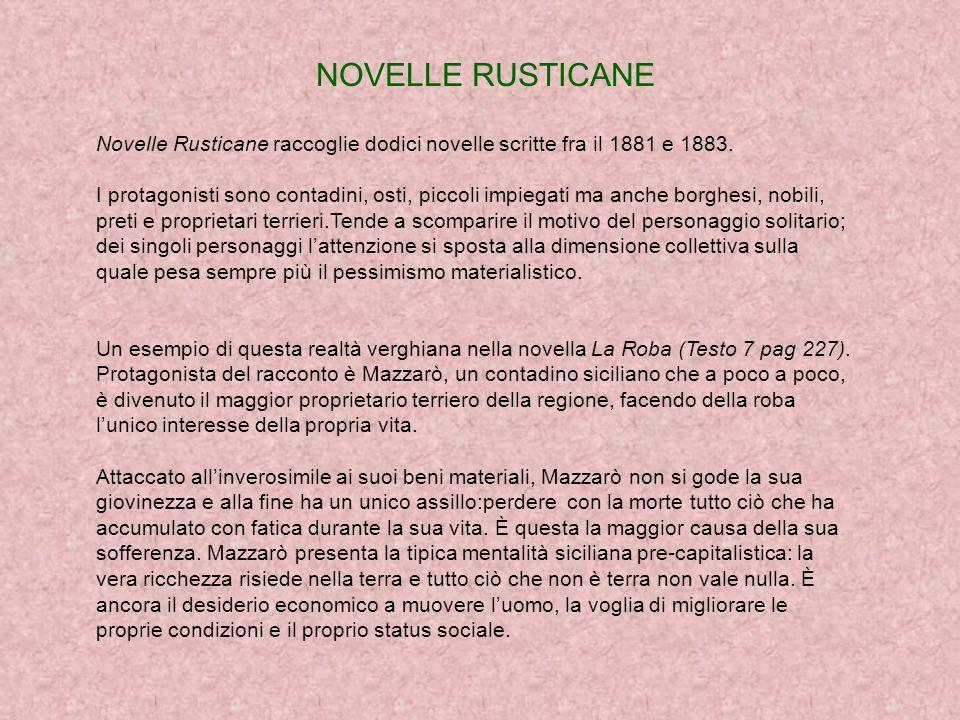 IL MARITO DI ELENA Del 1881 è il primo romanzo verista di Verga I Malavoglia.