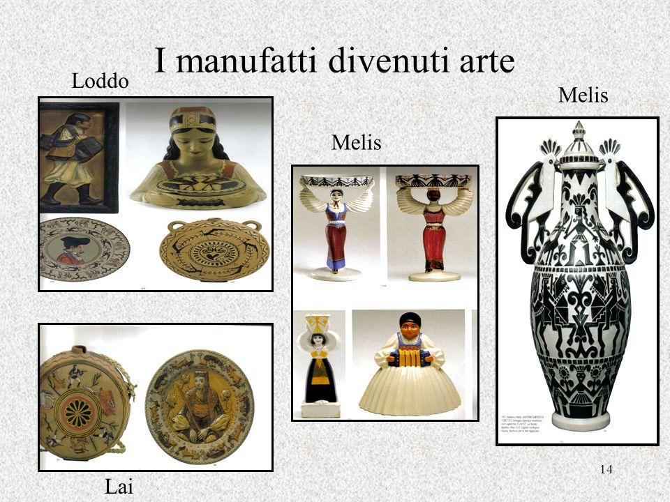 14 I manufatti divenuti arte Loddo Melis Lai Melis