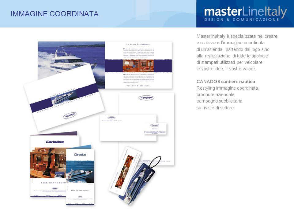 IMMAGINE COORDINATA MasterlineItaly è specializzata nel creare e realizzare limmagine coordinata di unazienda, partendo dal logo sino alla realizzazio