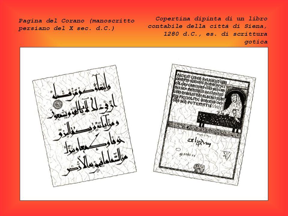 Pagina del Corano (manoscritto persiano del X sec.
