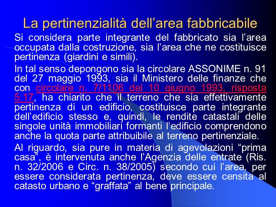 Segue La recente Cassazione (sent.n. 5755/2005), inoltre, afferma che lart.