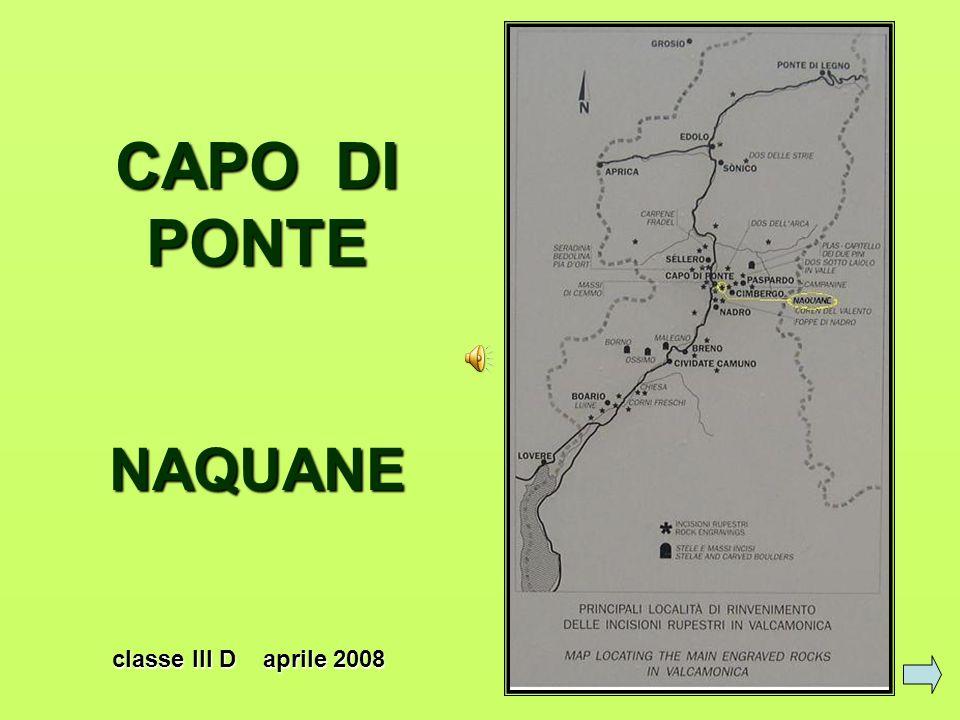 CAPO DI PONTE NAQUANE classe III D aprile 2008