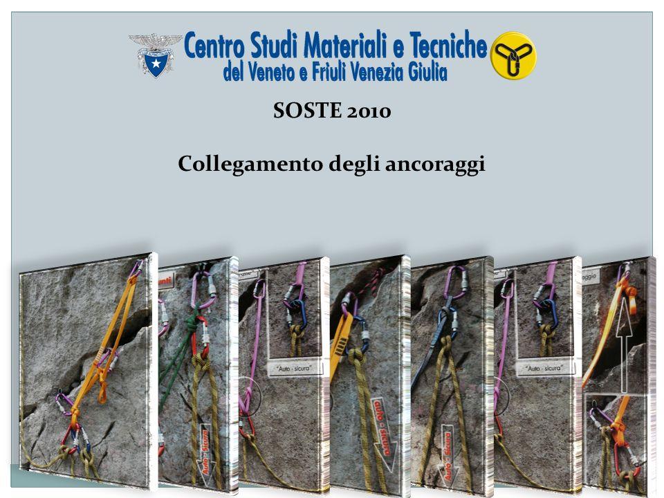 SOSTE 2010 Collegamento degli ancoraggi