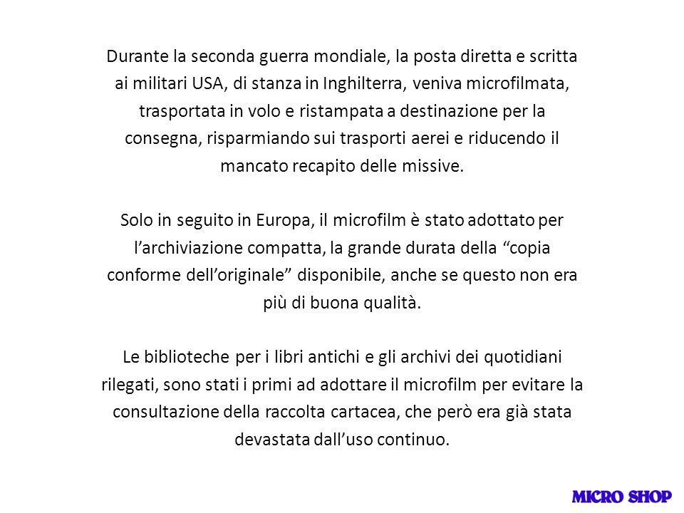 La ns società 30 anni fa, ha realizzato la microfilmatura di: 1.300.000 pagine della Gazzetta Piemontese dal 1865 della Gazzetta del Popolo fino alla cessazione delle pubblicazioni nel 1980 è lunica copia completa esistente.