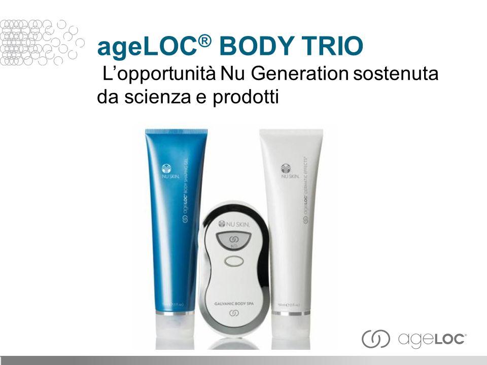 Combinando ageLOC ® con ingredienti correttivi allavanguardia è possibile aiutare a ridurre i SEGNI VISIBILI dell invecchiamento.