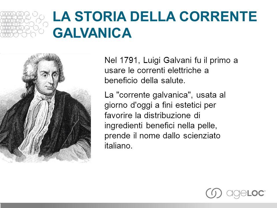 Nel 1791, Luigi Galvani fu il primo a usare le correnti elettriche a beneficio della salute.