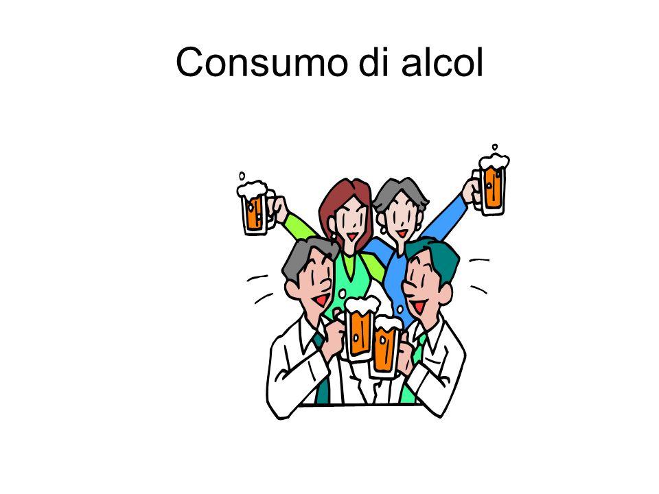 Consumo di alcol