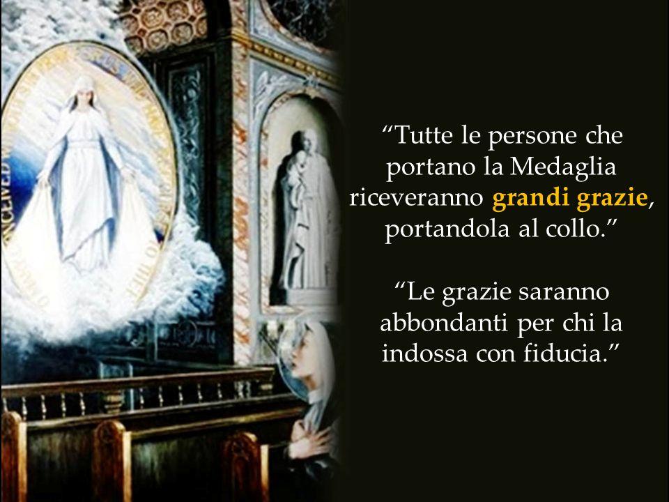 L a Madonna apparve ad una religiosa umile e le disse: