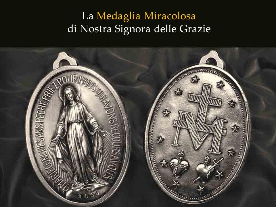 Ma che cosa era questa medaglia, che conteneva una promessa così forte fatta dalla Vergine Maria?