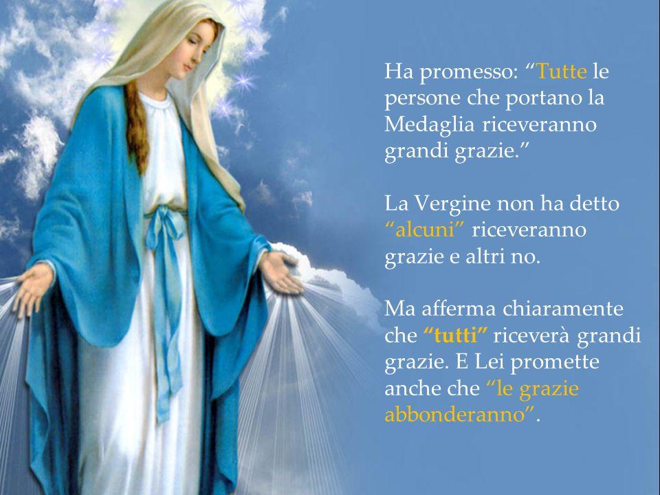 La Medaglia Miracolosa di Nostra Signora delle Grazie