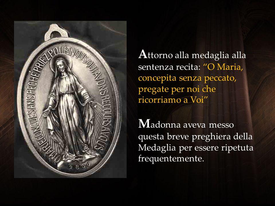 1830 è l'anno delle apparizioni della Madonna, in cui ha rivelato a Caterina Labouré la Medaglia. Era il tardo pomeriggio del 27 novembre.
