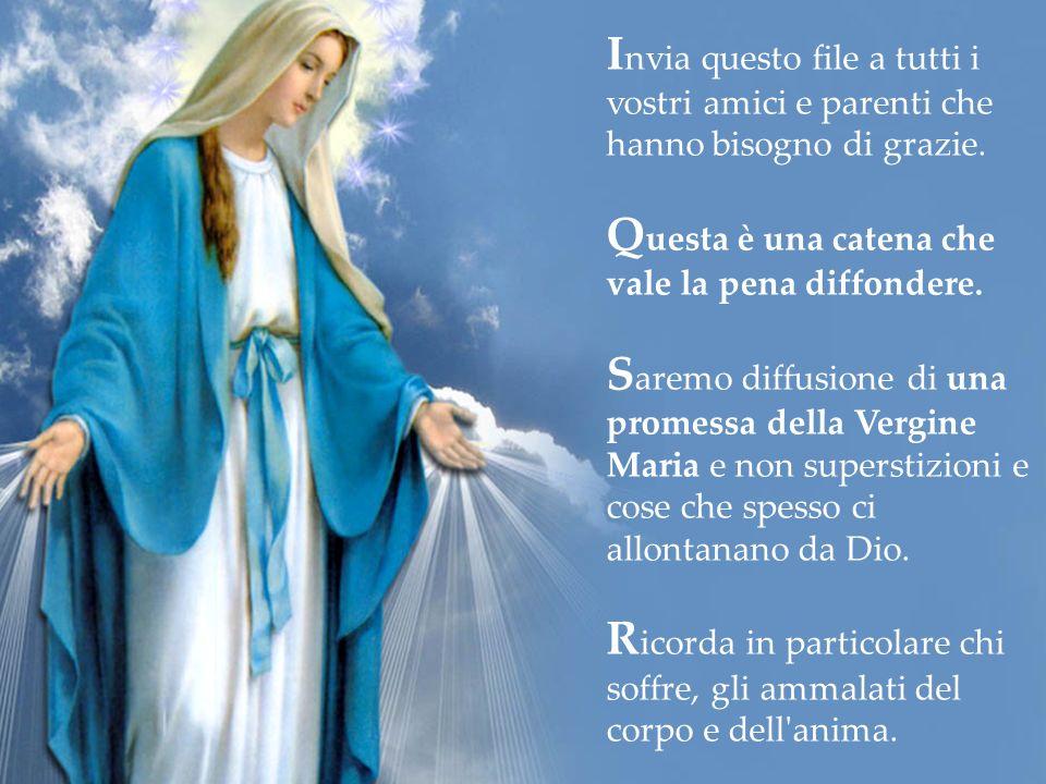 Si riceverà la Medaglia Miracolosa per posta e anche, per accendere una candela, grazie abbondanti della Vergine Maria. Cliccare qui per ordinare la m