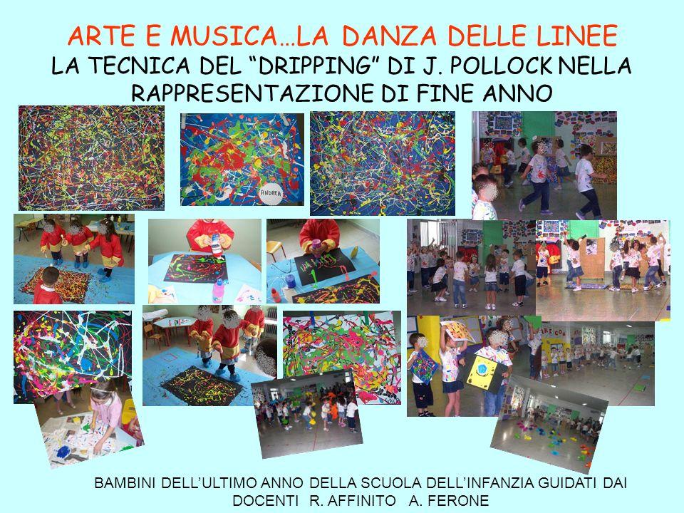 ARTE E MUSICA…LA DANZA DELLE LINEE LA TECNICA DEL DRIPPING DI J.
