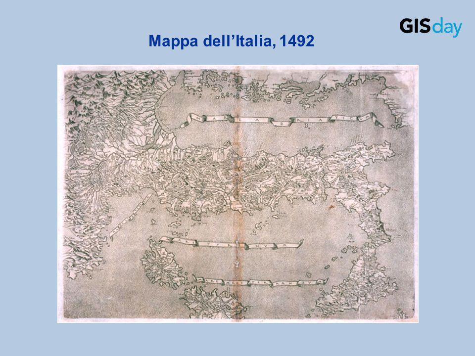Mappa dellItalia, 1492