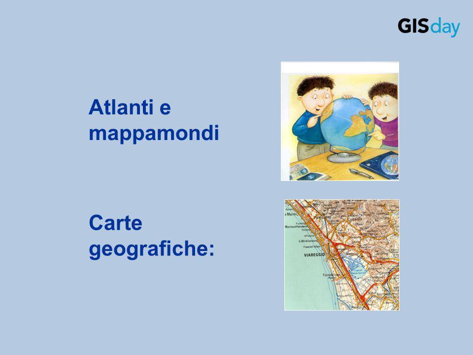 Atlanti e mappamondi Carte geografiche: