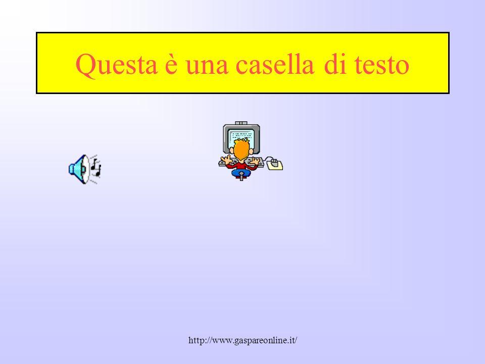 http://www.gaspareonline.it/ Opzioni di scelta dei colori predefiniti delle diapositive