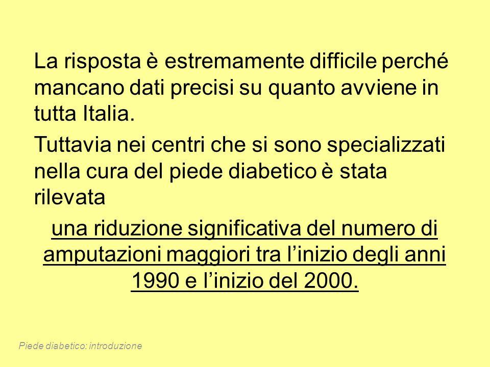 La risposta è estremamente difficile perché mancano dati precisi su quanto avviene in tutta Italia. Tuttavia nei centri che si sono specializzati nell